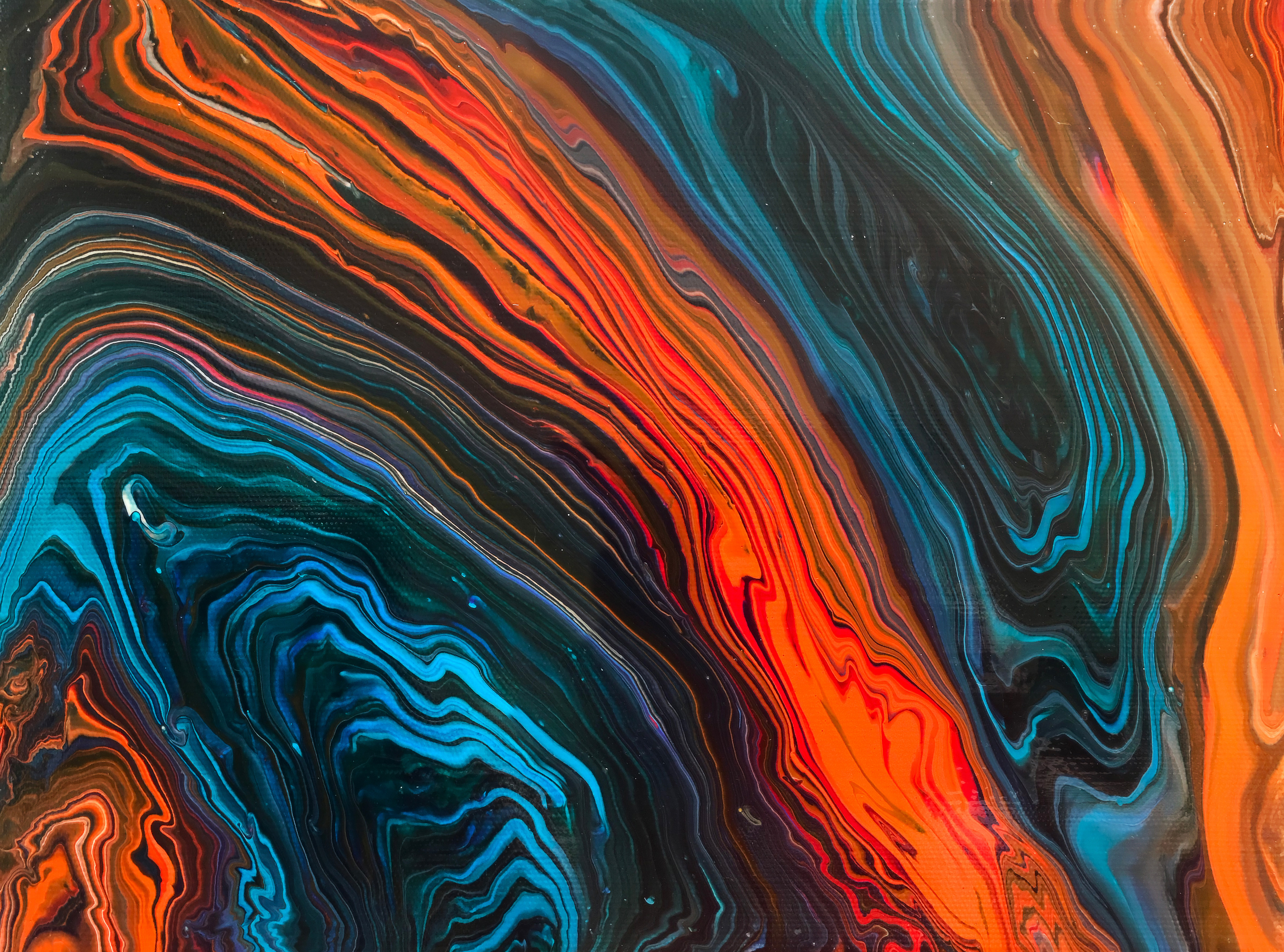 Exclusive Fluid Art Abstract Wallpapers The Designest